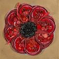 Recycled Poppy by Sheila McPhee