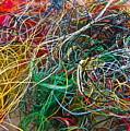 Recycled Thread by Gwyn Newcombe