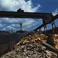 Recycling Scrap Steel During World War by Everett