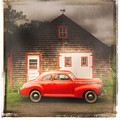 Red 41 Coupe by Craig J Satterlee