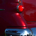 Red 50's Classic Tail Light by Dean Ferreira