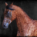 Red Ancient Horse No 01 by Maria Astedt