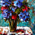 Red And Blue by Debra Hurd