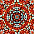Red And Blue Stones by Jesus Nicolas Castanon