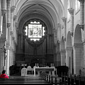 Red And Mono, Church Of Bethlehem by Perry Rodriguez