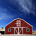 Red And White Barn by Marilyn Hunt