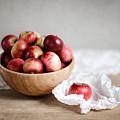 Red Apples Still Life by Nailia Schwarz