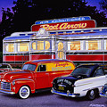 Red Arrow Diner by Bruce Kaiser