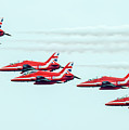 Red Arrows by Andy Blakey