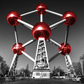 Red Atomium by Rob Hawkins