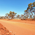 Red Australia by Genevieve Vallee
