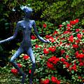 Red Azalea Lady by Susanne Van Hulst