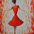 Red Ballerina by Mirjana Gotovac