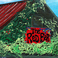 Red Bar - Grayton Beach by Racquel Morgan