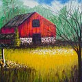 Red Barn  by Allison Constantino