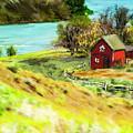 Red Barn by Dale Stillman