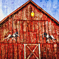 Red Barn by Diana Powell