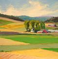 Red Barn Farm by Sylvia Carlton