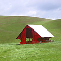 Red Barn In Spring by Karen  W Meyer