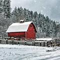 Red Barn by Karen Goodwin