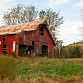 Red Barn Putnum County by Douglas Barnett