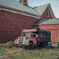 Red Barn Red Truck by Edward Fielding
