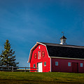 Red Barn by Roger Monahan