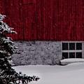 Red Barn by Sherri Cavalier