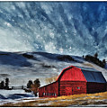 Red Barn by Susan Kinney