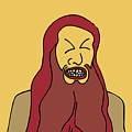 Red Bearded Man by Karl Addison