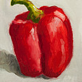 Red Bell Pepper by Joni Dipirro