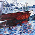 Red Boats by Richard Nowak
