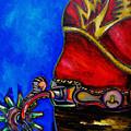 Red Boot by Patti Schermerhorn