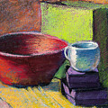 Red Bowl by Laurie Paci