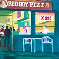 Red Boy Pizza by Joyce Slick