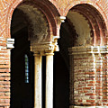 Red Brick Arches Regular by Marilyn Hunt
