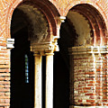 Red Brick Archway Soft by Marilyn Hunt