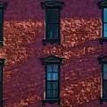 Red Brick Building Nyc by Robert Ullmann