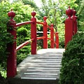 Red Bridge by Martina Fagan