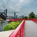 Red Bridge To Chicago by Anthony Doudt