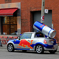 Red Bull Car by Andrew Fare