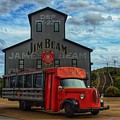 Red Bourbon Truck by Joseph Caban