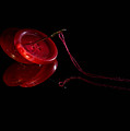Red Button by Irena Kazatsker