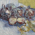Red Cabbages And Onions Paris, October - November 1887 Vincent Van Gogh 1853  1890 by Artistic Panda
