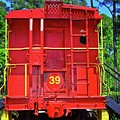 Red Caboose by Gary Adkins