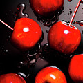 Red Candy Apples Or Apple Taffy by Jorgo Photography - Wall Art Gallery