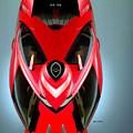 Red Car 006 by Rafael Salazar