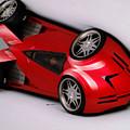 Red Car 009 by Rafael Salazar
