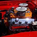 Red Car Engine  by Mariola Bitner