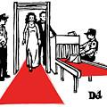 Red Carpet Security by Drew Dernavich